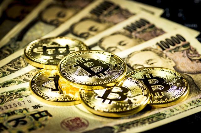 日本円とビットコイン